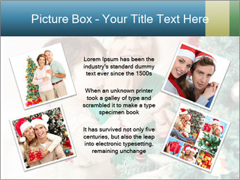 Grandmother And Granddaughter Decorate Christmas Tree PowerPoint Template - Slide 24