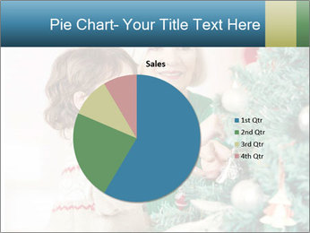 Grandmother And Granddaughter Decorate Christmas Tree PowerPoint Templates - Slide 36