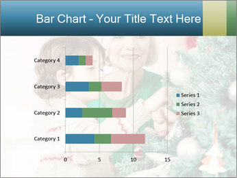 Grandmother And Granddaughter Decorate Christmas Tree PowerPoint Templates - Slide 52