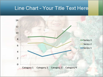 Grandmother And Granddaughter Decorate Christmas Tree PowerPoint Templates - Slide 54