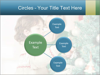 Grandmother And Granddaughter Decorate Christmas Tree PowerPoint Template - Slide 79
