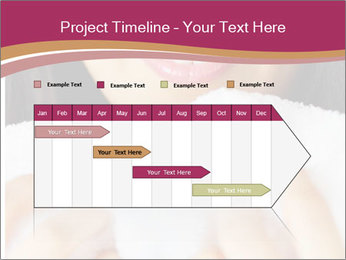 Woman With White Towel PowerPoint Templates - Slide 25