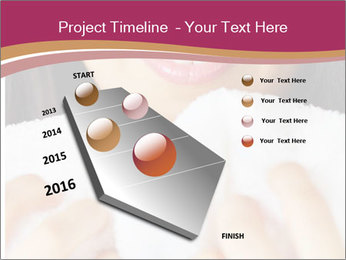 Woman With White Towel PowerPoint Templates - Slide 26