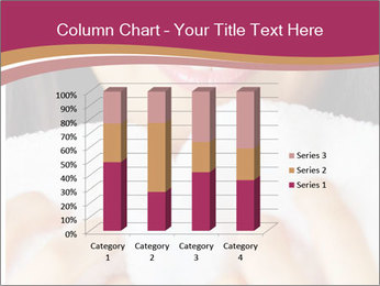 Woman With White Towel PowerPoint Templates - Slide 50
