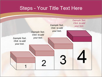 Woman With White Towel PowerPoint Templates - Slide 64