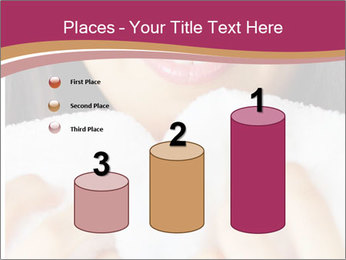 Woman With White Towel PowerPoint Templates - Slide 65