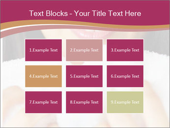 Woman With White Towel PowerPoint Templates - Slide 68