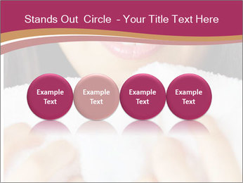 Woman With White Towel PowerPoint Templates - Slide 76