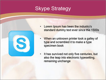 Woman With White Towel PowerPoint Templates - Slide 8