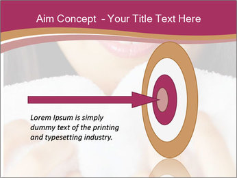 Woman With White Towel PowerPoint Templates - Slide 83