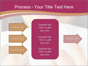 Woman With White Towel PowerPoint Templates - Slide 85