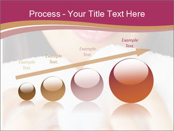 Woman With White Towel PowerPoint Templates - Slide 87