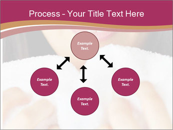 Woman With White Towel PowerPoint Templates - Slide 91