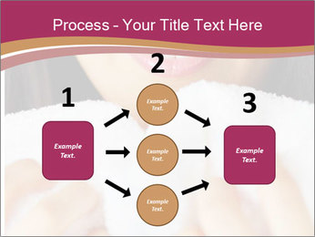 Woman With White Towel PowerPoint Template - Slide 92