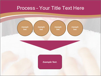 Woman With White Towel PowerPoint Templates - Slide 93