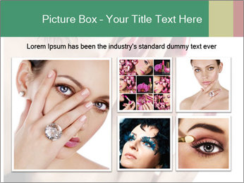 Red manicure PowerPoint Templates - Slide 19