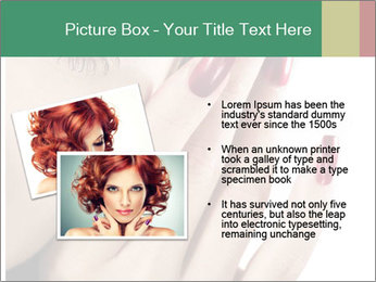 Red manicure PowerPoint Templates - Slide 20