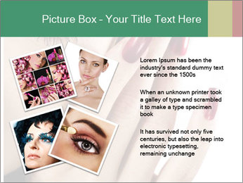 Red manicure PowerPoint Templates - Slide 23