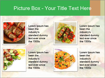Grilled Sandwich PowerPoint Templates - Slide 14