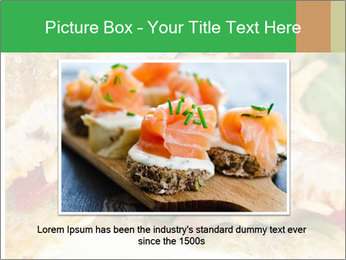 Grilled Sandwich PowerPoint Template - Slide 16