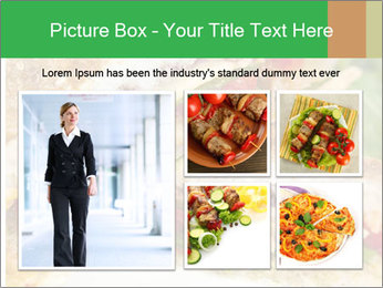 Grilled Sandwich PowerPoint Template - Slide 19