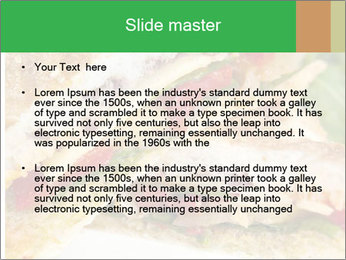 Grilled Sandwich PowerPoint Template - Slide 2