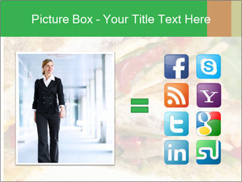 Grilled Sandwich PowerPoint Template - Slide 21