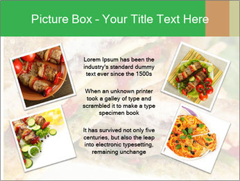 Grilled Sandwich PowerPoint Templates - Slide 24