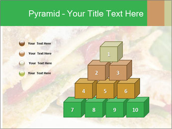 Grilled Sandwich PowerPoint Templates - Slide 31