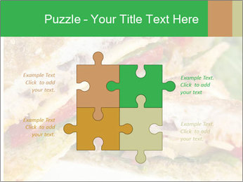 Grilled Sandwich PowerPoint Template - Slide 43