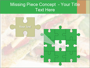 Grilled Sandwich PowerPoint Template - Slide 45