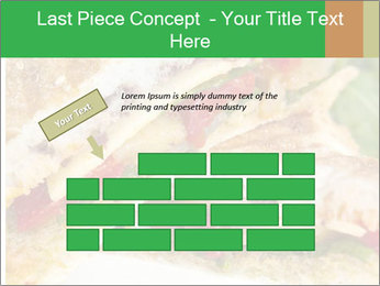 Grilled Sandwich PowerPoint Template - Slide 46
