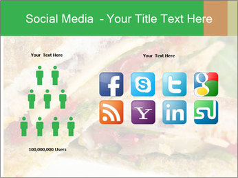 Grilled Sandwich PowerPoint Template - Slide 5
