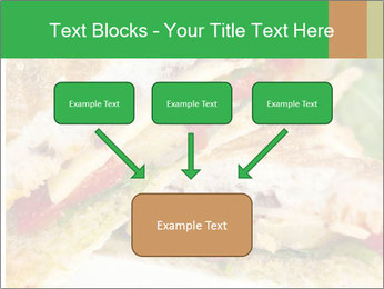 Grilled Sandwich PowerPoint Template - Slide 70