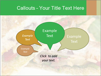 Grilled Sandwich PowerPoint Template - Slide 73