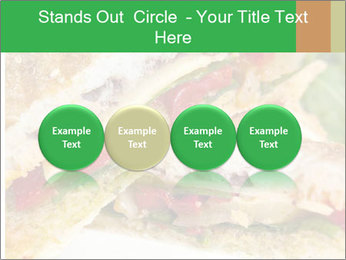 Grilled Sandwich PowerPoint Template - Slide 76