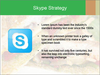 Grilled Sandwich PowerPoint Template - Slide 8