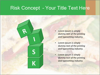 Grilled Sandwich PowerPoint Template - Slide 81