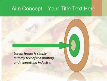 Grilled Sandwich PowerPoint Template - Slide 83