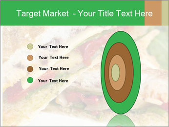 Grilled Sandwich PowerPoint Template - Slide 84