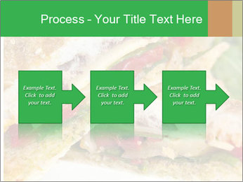 Grilled Sandwich PowerPoint Template - Slide 88