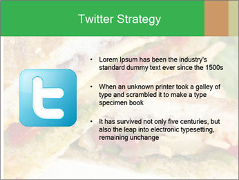 Grilled Sandwich PowerPoint Template - Slide 9