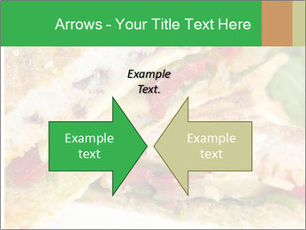 Grilled Sandwich PowerPoint Template - Slide 90