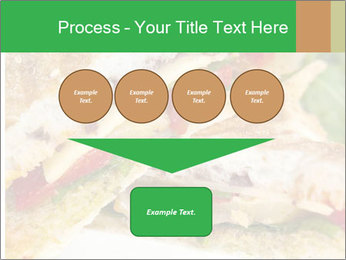 Grilled Sandwich PowerPoint Template - Slide 93