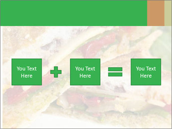 Grilled Sandwich PowerPoint Template - Slide 95