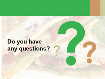 Grilled Sandwich PowerPoint Template - Slide 96