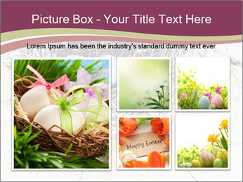 Nest With Blue Eggs PowerPoint Template - Slide 19