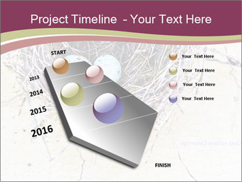 Nest With Blue Eggs PowerPoint Template - Slide 26