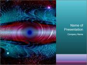 Art worm hole PowerPoint Templates
