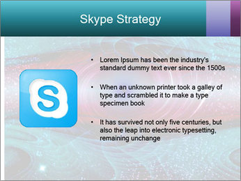 Art worm hole PowerPoint Template - Slide 8
